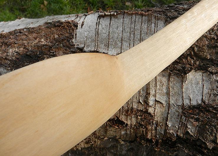 hele grote houten lepel