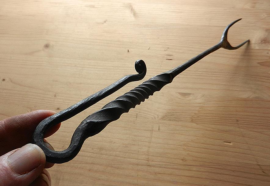 buiten keuken vork