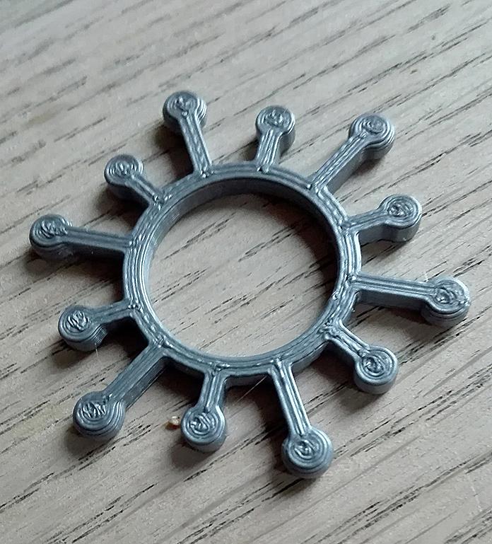 corona ring PLA